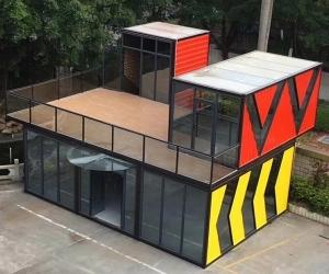赣州住人集装箱别墅房让您享受别样的住房体验