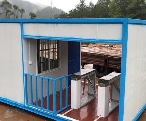 赣州住人集装箱专业室内外装饰及钢结构产品制作厂家