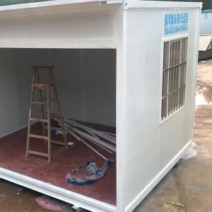 石城集装箱活动房材料的选择就有弹性